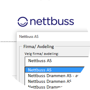 Nettbuss: Letter template connected to external system