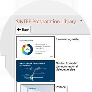 Presentasjonsbank i PowerPoint
