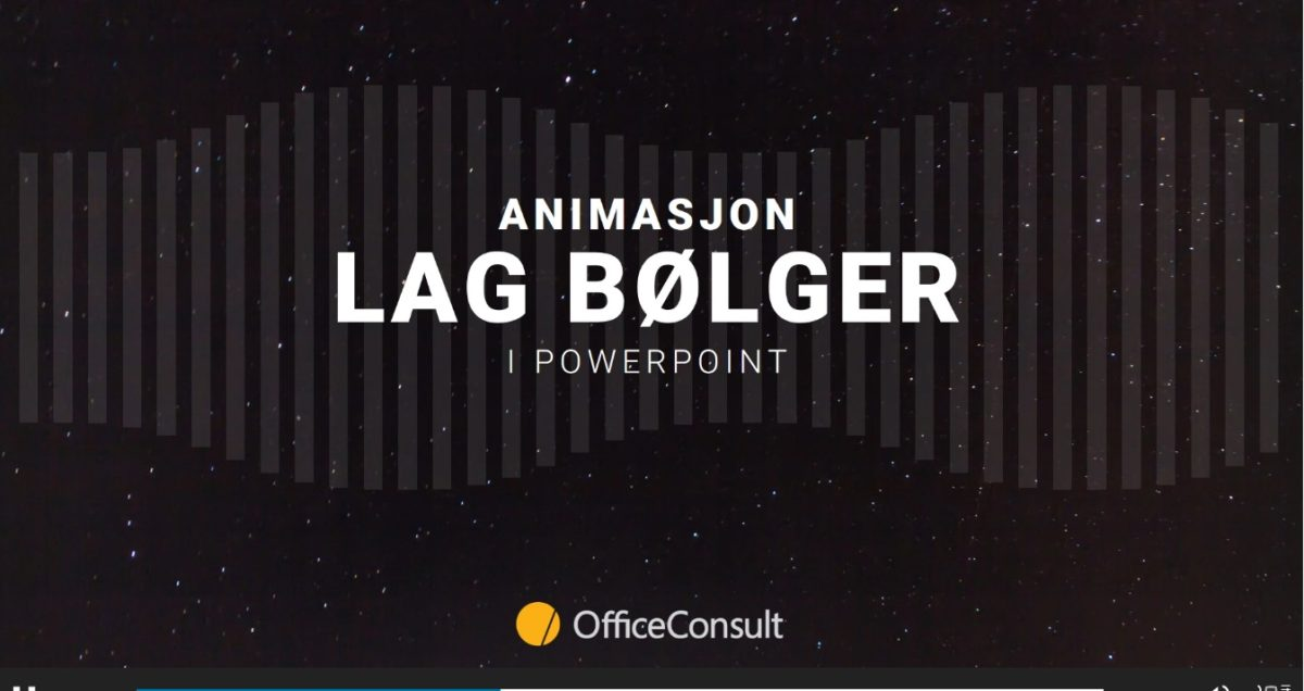 Animasjoner i PowerPoint gir mange muligheter
