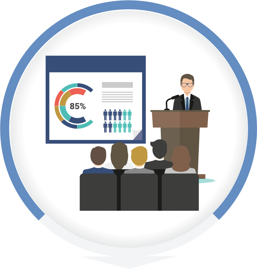 We deliver PowerPoint templates for businesses.